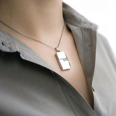 This 8Gb USB Necklac