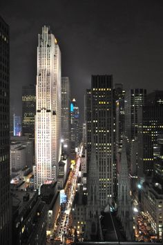 St Patrick Cathedral and Rockefeller Center, New York City