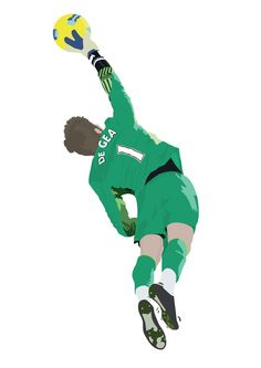 David De Gea Poster x An Poster of Manchester United and Spain Goalkeeper, David De Gea. Madrid Football, Football Love, Football Is Life, Football Players, Manchester United Wallpaper, Manchester United Players, Soccer Art, Football Wallpaper, Football Pictures