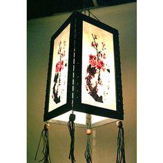 Zen hanging lamp chandelier / housewares fixture pendant lantern lampshade night light lighting shades home garden decor sakura HA06