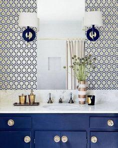"231 Likes, 5 Comments - Erinn Valencich (@erinnvstyle) on Instagram: ""#Bathroom #BathroomDesign #BathroomArt #BathroomRemodel #BathroomPic #BathroomDecor #Bathroompics…"""