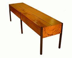 PW Bench: Brandon Phillips: Wood Bench | Artful Home