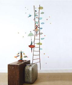 Sticker décoratif chambre d'enfant et bébé: Royal Circus