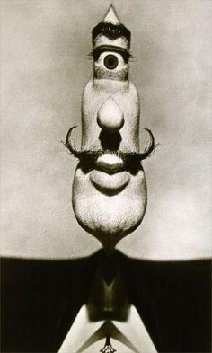 The Dali Cyclops, a collaboration between Salvador Dali and photographer Philippe Halsman, 1953