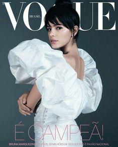 Bruna Marquezine by Vogue Brasil ❤ Marquezine, Capa, Painel, Vogue Brasil,  Moda 541018119d