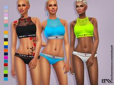 Sims 4 CC's - The Best: THilfiger_Sport outfits by EsyraM