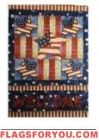 Welcome Patriotic House Flag - 17 left