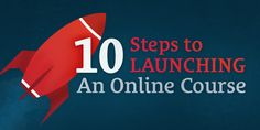 10 Steps to Launching an Online Course http://LamboGoal.com/20