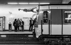 Animétro - Wilde Tiere nehmen die U-Bahn