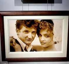Precious moments: The pair then joined forces to auction off intimate unseen photographs of their 1985 wedding taken by Herb Ritts