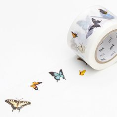 MT ex Butterfly Wide Washi Tape by foxandstar on Etsy Washi Tape Storage, Washi Tape Crafts, Washi Tapes, Paper Crafts, Fabric Tape, Paper Tape, Cute School Supplies, Craft Supplies, Organization Bullet Journal