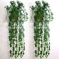 Wish | Artificial Ivy Leaf Garland Plants Vine Fake Foliage Flowers Home Decor