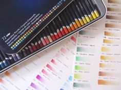 juliana rabelo   illustration: Lápis de cor aquareláveis: Derwent