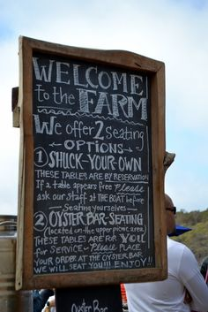 Hog Island Oyster Farm - a one tank trip from San Francisco and from Napa Valley