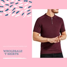 Bulk order men's polo shirts from USA Clothing Manufacturers. Please check out the wholesale store and drop a mail to the help team communicating your wholesale needs. Wholesale Blank T Shirts, Wholesale Blanks, Bulk Order, Polo Shirts, Cool T Shirts, The Help, Menswear, Drop, Usa
