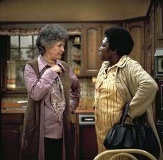 """""""Maude"""" Bea Arthur,Esther Rolle Circa.1973"""