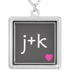 Initial Love Necklace http://www.branddot.com/14/initial_love_necklace-177360690443137543