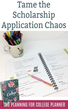 A College preparation planner full of college preparation checklists and other helpful tools. Organize the college search and college application process in one place. College Organization, Planner Organization, High School Resume, College Search, Importance Of Time Management, College Planner, College Courses, Saving For College, College Application