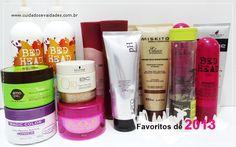 Meus produtos favoritos para cabelos! - Cuidados e Vaidades http://www.cuidadosevaidades.com.br/2014/01/meus-produtos-favoritos-para-cabelos.html