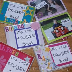Prayer books to help kids learn to pray ... for toddlers.
