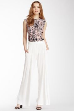 Pleated Palazzo Pant by See By Chloe on @HauteLook