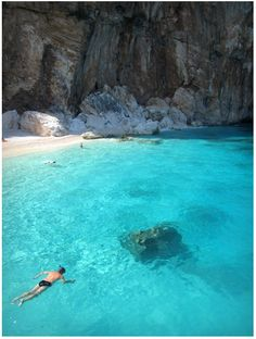 Sardinia, Italy. I would love to swim there!