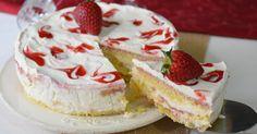 Torta tiramisu alle fragole