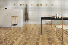 Lea Ceramiche presenta al Salone del Mobile le nuove collezioni disegnate da HOK Product Design e Diego Grandi nell'installazione Urban and Domestic Landscapes.
