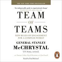 Team of Teams - Ljudbok - Tantum Collins,General Stanley McChrystal,Chris Fussell,David Silverman - Storytel