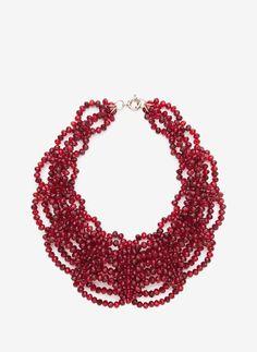 Glass necklace - Jewellery - Accessories - Uterqüe United Kingdom