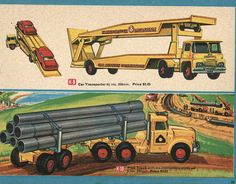 Matchbox Collector's Catalogue, 1968, by Wishbook, via Flickr. I still have the Car Transporter.