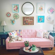 Tufted sofa Sofas and Turquoise on Pinterest