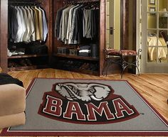 Rug Rats Is A Trusted Name In University Of Alabama Crimson Tide Logo Rugs Ship For Free Show Your Pion With Team