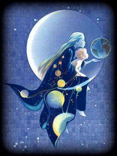 "Moon: ""The Moon Child,"" by Arlene Graston."