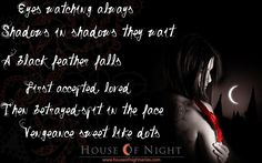 House of Night Series.. if you like vampires :)