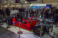 Ariel unveils world-beating supercar with 1180bhp at LCV event Updated with further details: All-wheel-drive electric machine to be capable of 0-100mph in 3.8sec  British firm Ariel has unveiled what it believes will be the fastest-accelerating and most advanced supercar in history a 1200bhp four-wheel-drive electric two-seater with a revolutionary turbine range extender powertrain.  The vehicle codenamed the P40will be capable of 0-100mph in just 3.8sec and is scheduled for production in…