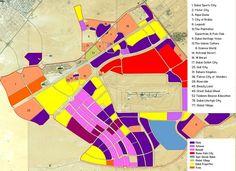 Dubailand Map
