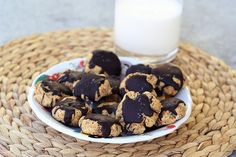 "Vanilla Almond ""Sugar"" Cookies Made from Almond Milk Pulp - Gluten-free, Vegan + Refined Sugar-free"