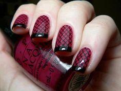 Ocher nails