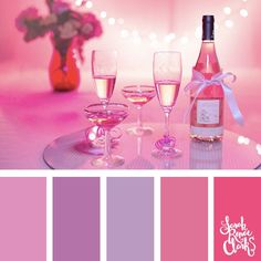 30 Color Ideas For Valentine's Day | See all 20 color schemes for inspiration at http://sarahrenaeclark.com