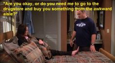 King of Queens - I adore this show!!! I even like Carrie usually, even if she does need a little smack sometimes.