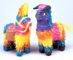 Cinco de Mayo Decorations Deluxe Mini Bull or Donkey Pinata Image