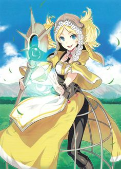 """"""" Sprightly Cleric: Lissa """""""