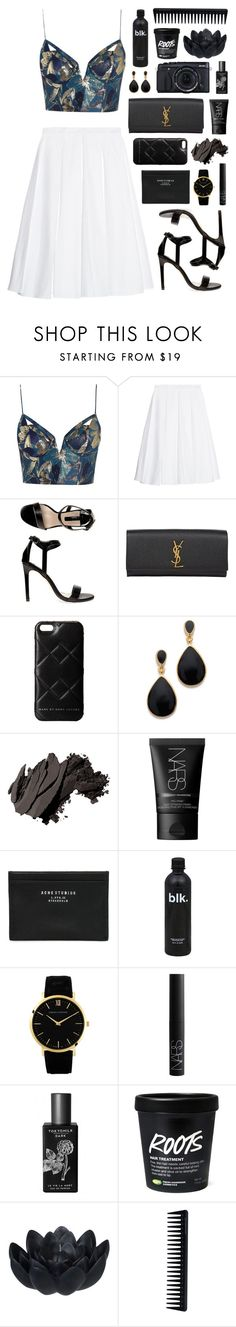 """RKY #80"" by rkingy ❤ liked on Polyvore featuring Zimmermann, J.W. Anderson, Dorothy Perkins, Yves Saint Laurent, Marc by Marc Jacobs, Kenneth Jay Lane, Bobbi Brown Cosmetics, NARS Cosmetics, Acne Studios and Fujifilm"