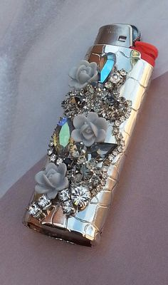 Rhinestone Bling Lighter Cover/Bohemian Gypsy by TheBohemianGypsy, $28.00
