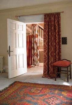 love these curtains and rugs, Montgomery Aztec Curtains http://www.fabricscurtainsblinds.co.uk/montgomery.php