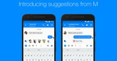 """Facebook Messenger's AI """"M"""" suggests features to use based on your convos (Techcrunch)"""