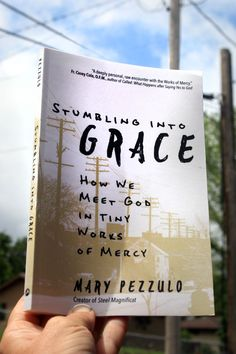 """""""I tried to learn about God from textbooks and teachers. But along the way, I learned about God in the Works of Mercy."""" Mary Pezzulo had intended to learn about the Lord in her graduate studies, but serious illness ruined those plans and landed her young family in desperate straits. Despite her circumstances, Pezzulo began tripping over God in the tiny works of mercy she offered to others and received herself. Learn practical ways to live out the Works of Mercy here. Works Of Mercy, It Works, Study Philosophy, Charitable Giving, Acts Of Love, How We Met, Spiritual Words, Catholic Books, Finding God"""