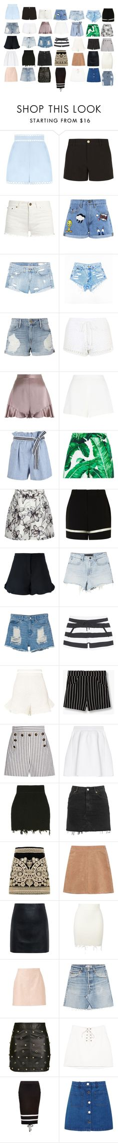 """My closet"" by sez99 ❤ liked on Polyvore featuring Zimmermann, Gucci, Yves Saint Laurent, Paul & Joe Sister, rag & bone/JEAN, Frame, Topshop, Giambattista Valli, Lemlem and Dolce&Gabbana"