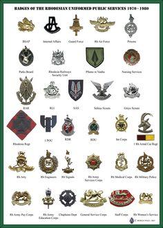 Rhodesian Army - Rhodesia - Intaf